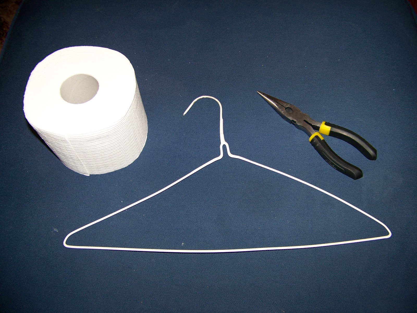 Making Cooley Stuff: Clothes Hanger Toilet Paper Holder