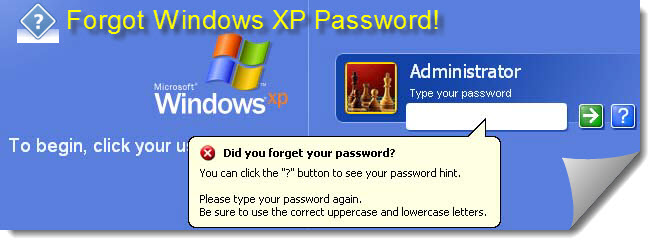 Mengatasi Lupa Password Pada Windows XP
