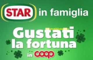 Logo Concorso STAR e vinci 60 buoni spesa da 50 euro