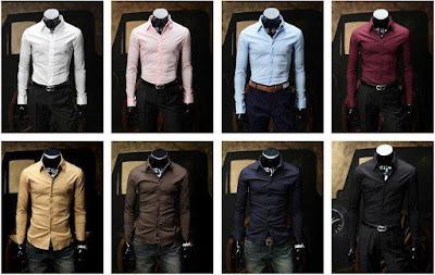 cara memilih baju kemeja pria