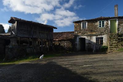 Imagen de un pueblo de Galicia