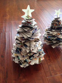 Paper Christmas Trees, One of my favorites this week at Encouraging Hearts and Home, link-up your creations, right here at Scratch Made Food! & DIY Homemade Household!