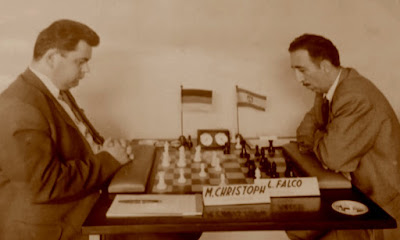 Partida de ajedrez Christoph-Falcó