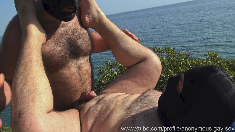 GAY HUNG ANONYMOUS QUICKIE FUCK