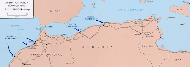 Operation Torch Allied Landings 1942