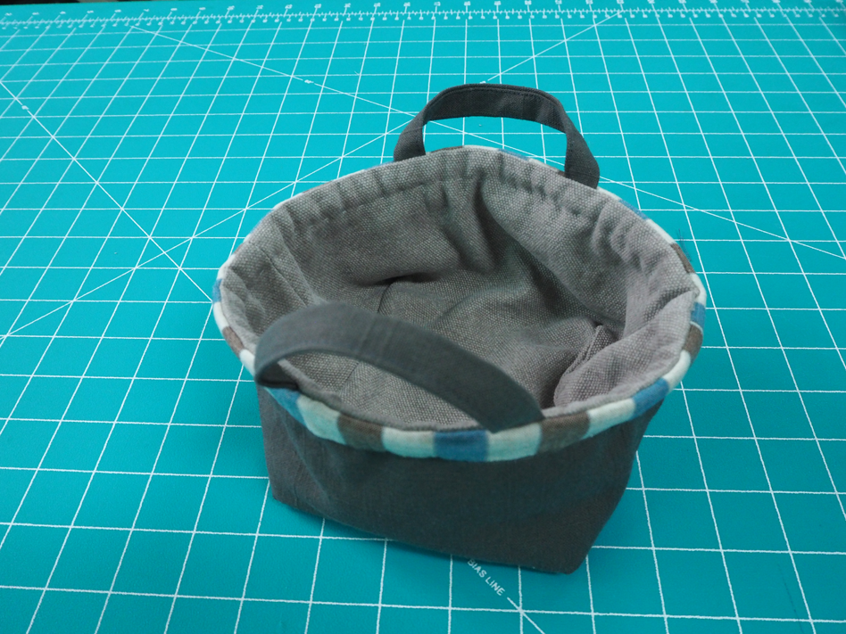 Sewing Basket Ideas, Diy Fabric Basket Tutorial