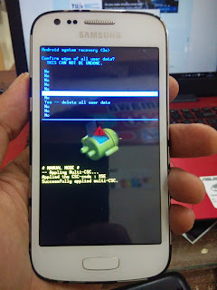 Hard Reset Samsung Galaxy Ace 3 (GT-S7270)