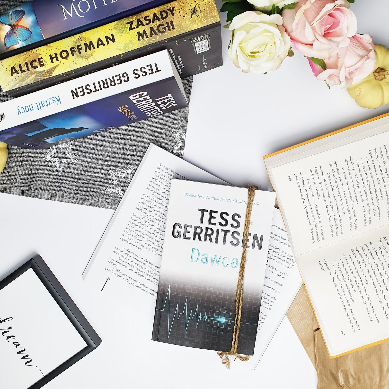 """Tess Gerritsen i """"Dawca"""" - jak myślisz kto okazał się dawcą w tej książce?"""
