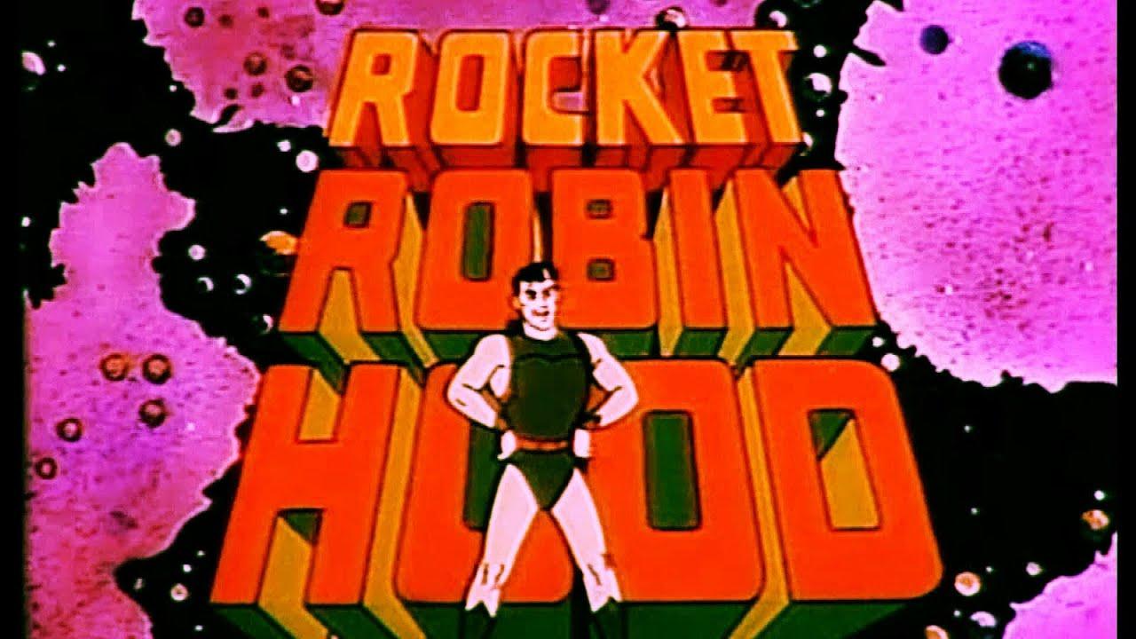 "ANIMAÇÃO EM FOCO: ""SUPER ROBIN HOOD (ROCKET ROBIN ROOD/1966)"