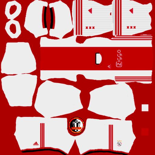 Kits Ajax Amsterdam 2021 - Dream League Soccer 2021