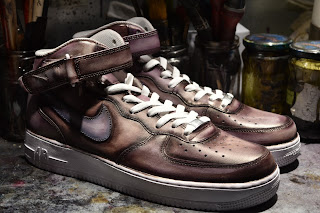 sneaker patina by Paulus Bolten