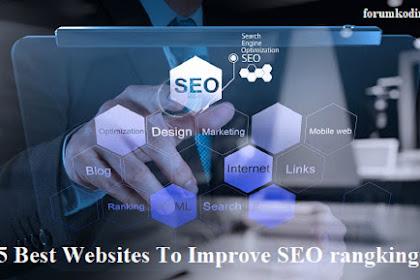 5 Best Websites To Improve SEO rangkings