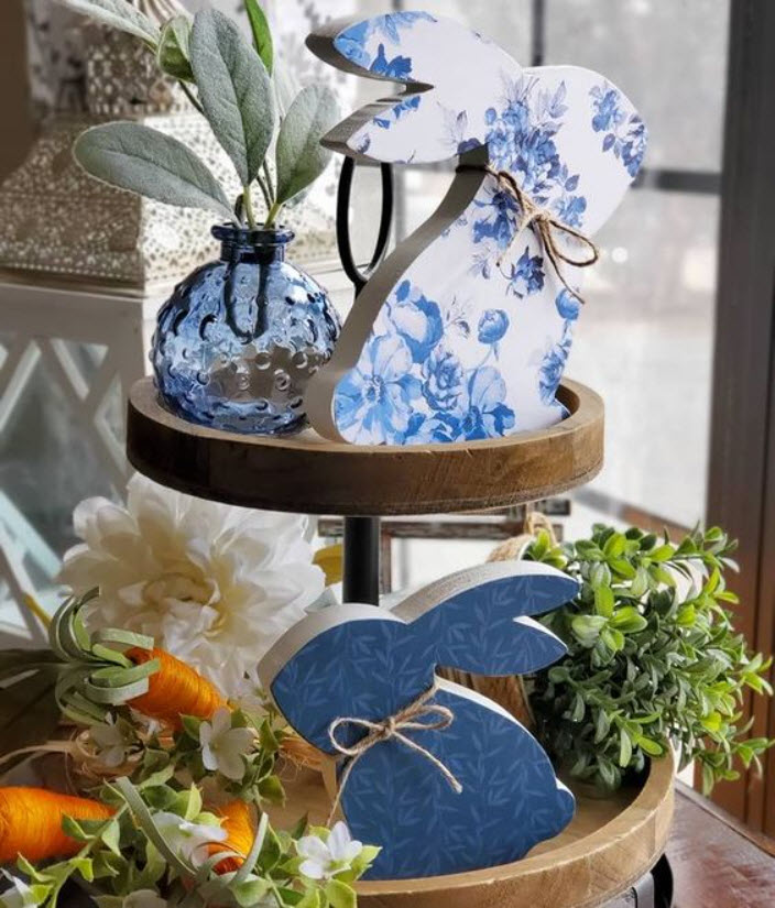 Easter Tiered Tray Ideas