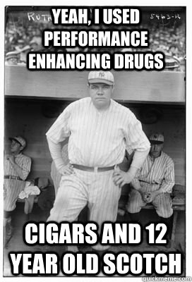 Babe Ruth - 10 Cigar Jokes Only Cigar Lovers Will Get