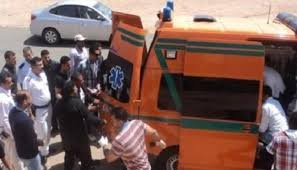 مصرع وأصابه 8 في حادث انقلاب سياره بصحراوي وادي النطرون الضبعه بالبحيرة