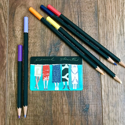 Pencil collage
