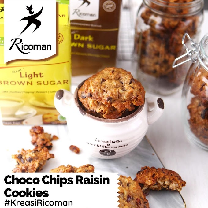 [RESEP] Choco Chips Raisin Cookies