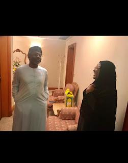 20190809 151349 - Picture of Gbajabiamila and Aisha Buhari in Mecca -@9jasuperstar