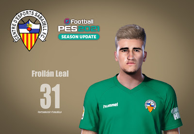 PES 2021 Faces Froilán Leal by CongNgo