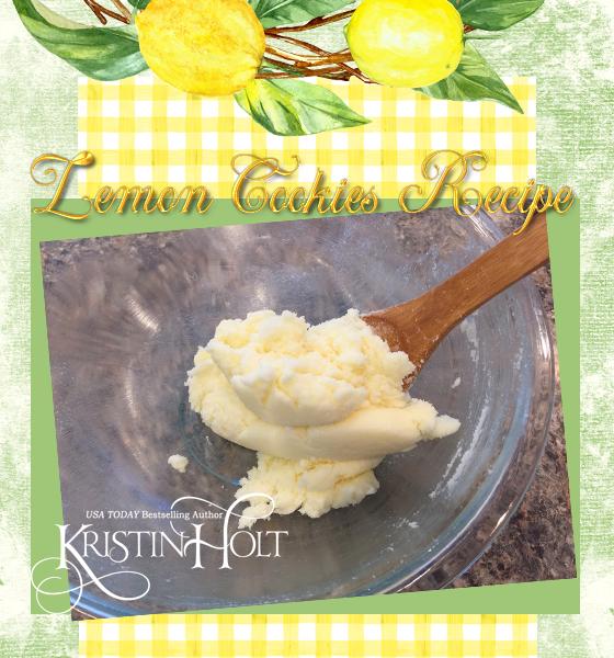 Kristin Holt | Lemon Cookies Recipe (1895): image of butter and sugar creamed together.