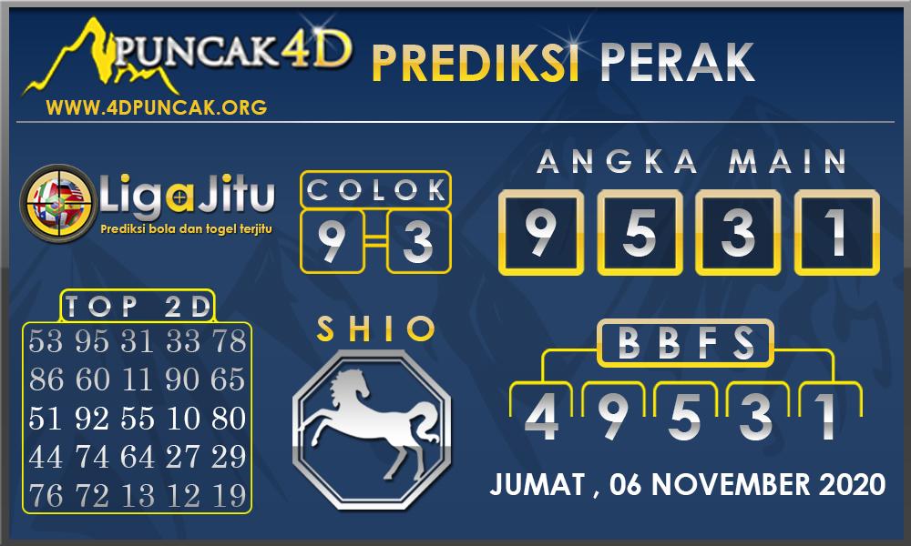 PREDIKSI TOGEL PERAK PUNCAK4D 06 NOVEMBER 2020