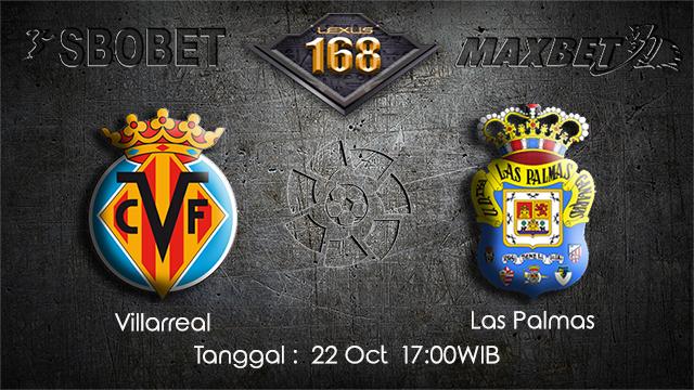 PREDIKSIBOLA - PREDIKSI TARUHAN BOLA VILLARREAL VS LAS PALMAS 22 OCTOBER 2017 (LA LIGA)