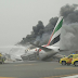 Emirates Boeing 777 Explodes on Dubai Runway After Crash Landing