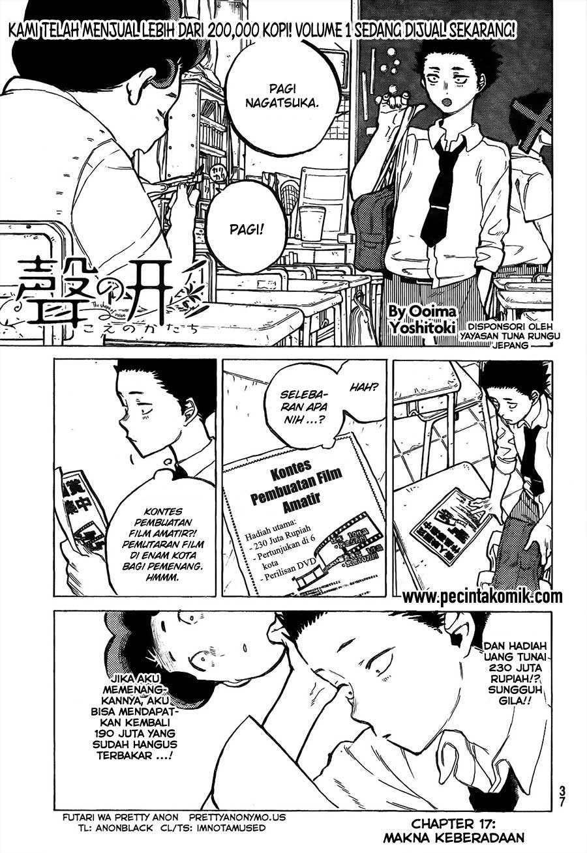 Koe no Katachi Chapter 17-2