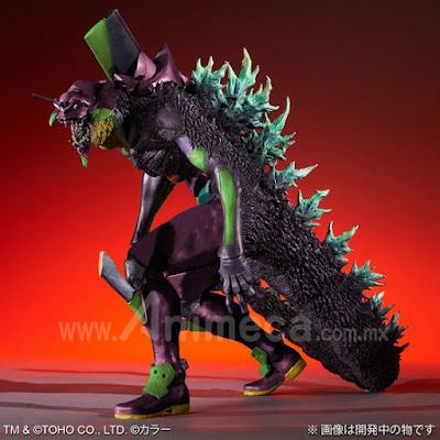 """Figura EVA-01 """"G"""" Kakusei Keitai Edición Limitada Toho 30cm Series Godzilla vs Evangelion"""