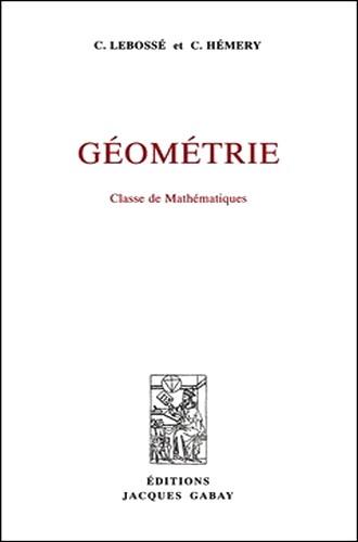 Géométrie : Classe de mathématiques