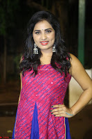Srushti in beautiful Pink Sleeveless Dress Cute Actress Dimples ~  Exclusive 033.JPG