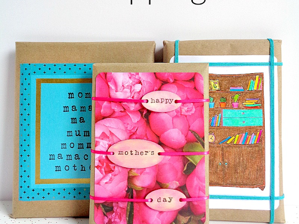 3 Last Minute Mother's Day Gift Wrapping Ideas