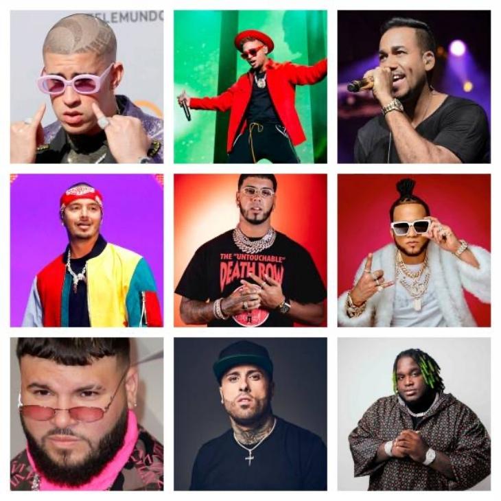 Los artistas que más sonaron en el 2019 en RD, según Spotify