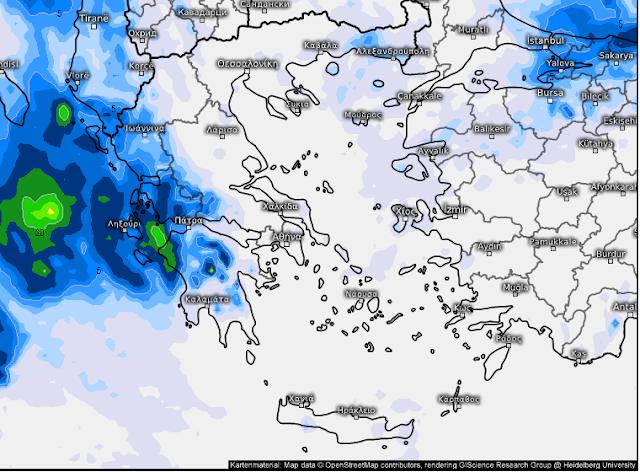 efef - Καιρός 1-2 Οκτωβρίου (+χάρτης βροχής)