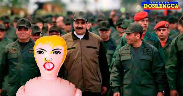 5 Militares detenidos en Bolivar por abusar de una Oficial durante una sesión de Brujería