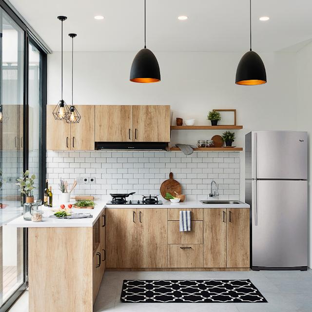 Desain Dapur Minimalis Modern Mewah Terbaru