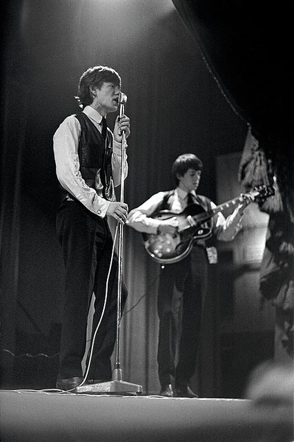 Rare Photos Of The Rolling Stones On The Stage In 1962 63