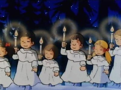 Candy Candy Un Cadeau des Anges épisode de Noël