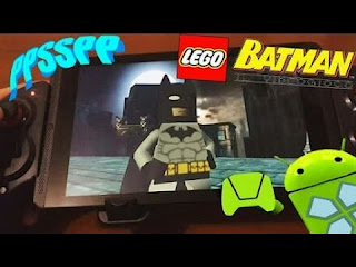 Game Lego Batman The Video Game ISO PPSSPP Download