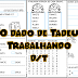 TEXTO EM QUADRINHA TRABALHANDO SIMILARIDADE FONOLÓGICA - D/T - 1º ANO