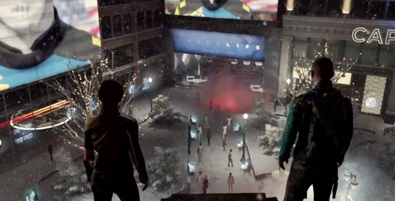Detroit Become Human también se deja ver en gameplay
