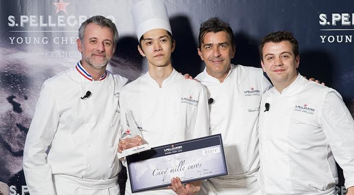 Shintaro Awa, Young Chef France 2016