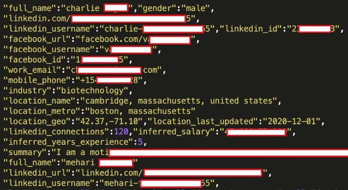 تم تسريب المعلومات الشخصية لـ 92٪ من مستخدمي LinkedIn