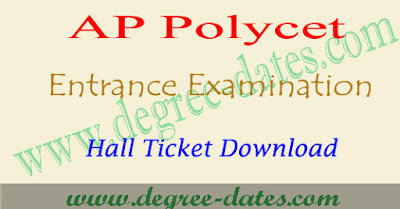 AP polycet hall ticket 2017 ap polytechnic hall tickets download