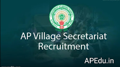 AP Grama Sachivalayam jobs 1.60 Lakh Vacancies Recruitment 2019 through DSC in Village Secretariats Notification, vacancies details, Apply Online