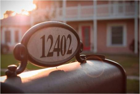 a new address number