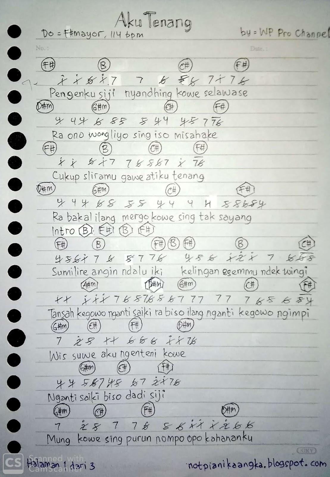 Chord Fourtwnty Tenang : chord, fourtwnty, tenang, Lirik, Tenang, Arsia