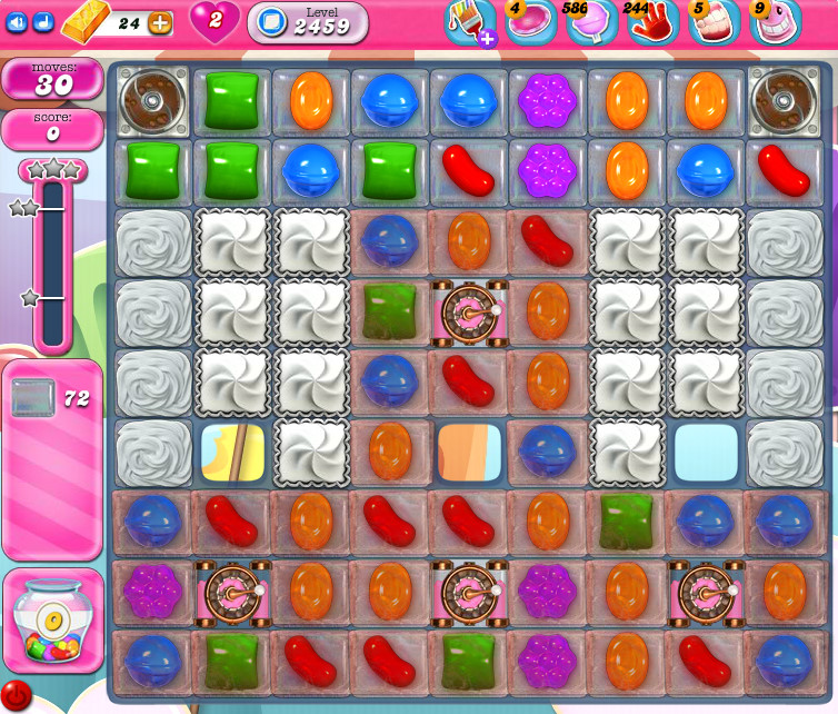 Candy Crush Saga level 2459