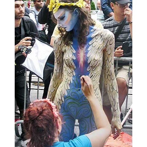 full body paint