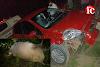 Empresário Meirisvaldo sofre acidente ao colidir com animal no povoado São Raimundo